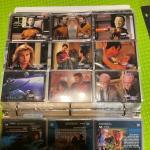 Large binder of Star Trek cards