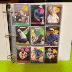 Signed golf cards Arnold Palmer etc