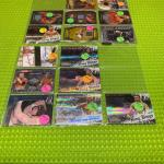 Wrestling cards ring kings etc