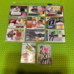 Hockey jersey cut cards