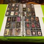 Two binders of Harley Davidson cards