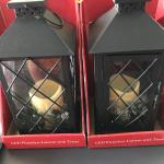 LED Flameless Lantern with Timer