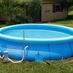 14'x 32' Above Ground Pool + Accessories