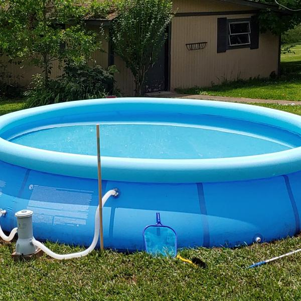 Photo of 14'x 32' Above Ground Pool + Accessories