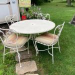 Patio Table W/4 Chairs