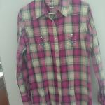 Rock 47 by Wrangler plaid shirt