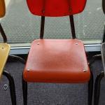 2 Orange Children's Chairs