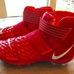 Nike Red Men's Force Savage Elite 2 Football Cleats size 17, New AH3999-600