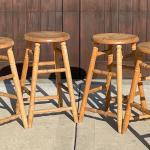 Unfinished stools