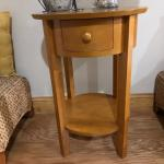 Pottery barn side table