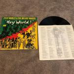 Hey world Ziggy Marley & The Melody Makers lp