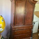 Cherrywood armoire