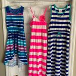 Lot of 20 items  . children's  pajamas, gowns, dresses sizes 7,   7/8