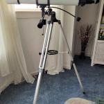 Meade Model 385 90mm Equatorial Refracting Telescope