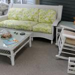 Large Set of High-end Wicker
