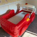 Toddler Firetruck Bed