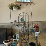 Lot 2 Garage: Yard Art, Shephard Hooks, and More
