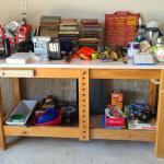 Lot 10 Garage: Workbench