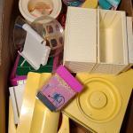 Lot 11 Basement: Vintage Barbies, Barbie Furniture and More