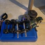 Lot 8 Basement: Weights, Stepper and More
