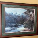 "Forest framed print 32""x28"""