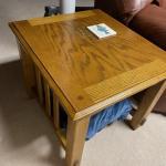 "Pair of Oak End Tables 22"" x 25"""