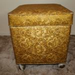 Vintage Sewing Chest Footstool