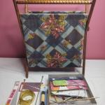 281 - Yarn Holder & Knitting Tools