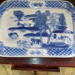 Vintage Chinese serving platter.