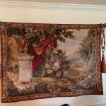 Tapestry w/ rod & tassles