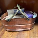 Copper & Brass basket