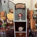 "Vintage cabinet 61""1/2H x12""Dx14""L !"