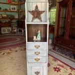 Vintage tall cabinet! 973-600-3177