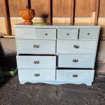 Adorable blue dresser