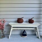 Vintage Amish bench !