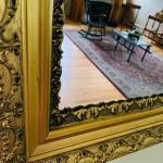 Vintage ornate mirror!