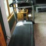 "Nordick C850i treadmill ,Sony Grand  60"" L C D television , Rowing Machine"