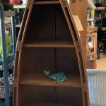 Rowboat bookcase