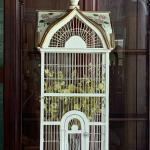 Vintage Victorian Wooden Bird Cage! 973-600-3177
