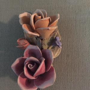 Photo of Antique capodemonte roses