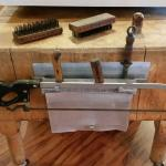 Authentic Maple Butcher Block w/Original Tools