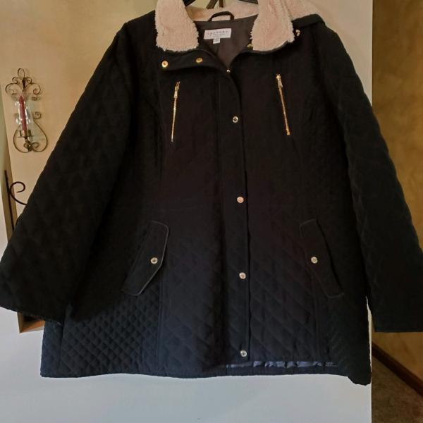 Photo of Black winter coat