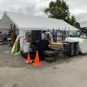 Photo of Huge warehouse and yard sale