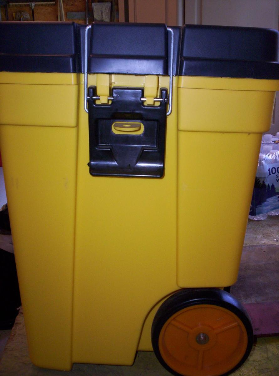 Photo 1 of Contico Mobile Work/Tool Box NEW