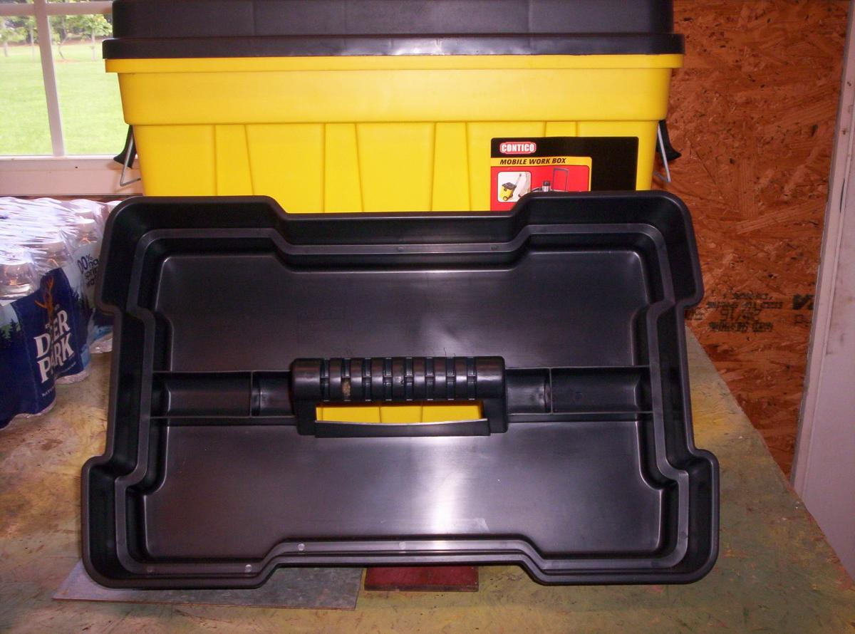 Photo 5 of Contico Mobile Work/Tool Box NEW