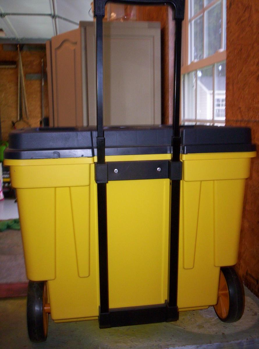 Photo 4 of Contico Mobile Work/Tool Box NEW