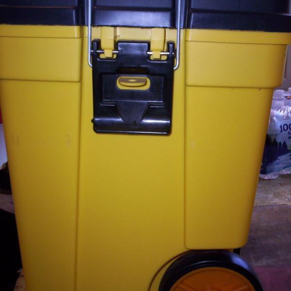 Photo of Contico Mobile Work/Tool Box NEW