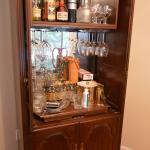 Ethan Allen Bar Armoire