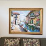 Painting of Venice with Gold Frame