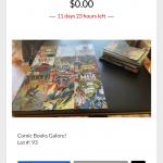 Online auction- starting $1- shipping available